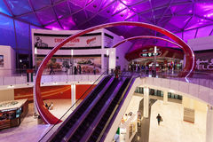 Ferrari World Theme Park in Abu Dhabi Stock Photography
