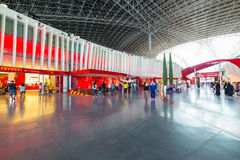 Ferrari World at Yas Island in Abu Dhabi Royalty Free Stock Photography
