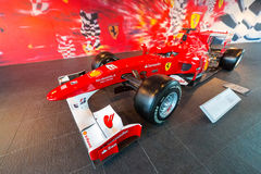 Ferrari World at Yas Island in Abu Dhabi Stock Photography