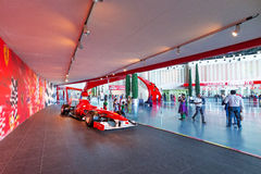 Ferrari World at Yas Island in Abu Dhabi Royalty Free Stock Images