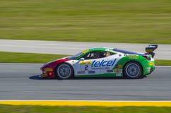 Ferrari wyzwania Daytona 2016 wygrany samochód Ricardo Perez Zdjęcia Stock