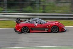 Ferrari 599XX na trilha Imagens de Stock