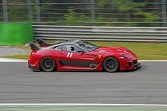 Ferrari 599XX sulla pista Immagine Stock Libera da Diritti