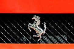 Ferrari-Zeichen Lizenzfreies Stockbild