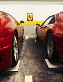Ferrari-Zeichen lizenzfreie stockbilder