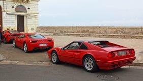 Ferraris en Gallipoli Fotografía de archivo libre de regalías