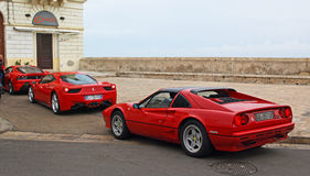 Ferraris a Gallipoli fotografia stock libera da diritti