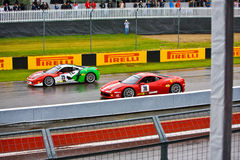 Ferraris racing at Montreal Grand prix Stock Photo