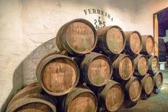 Ferreira Winery Porto Stock Image