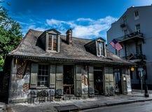 Ferreiro Bar da arquitetura do bairro francês de Nova Orleães Foto de Stock Royalty Free