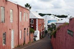 Ferreiro Hill, St George Bermuda - em setembro de 2014 Imagem de Stock Royalty Free