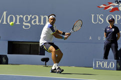 Ferrer David (ESP) på US Open 2013 (23) Royaltyfri Fotografi