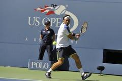 Ferrer David (ESP) på US Open 2013 (21) Royaltyfria Foton