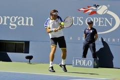 Ferrer David (ESP) at US Open 2013 (12) Stock Image