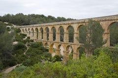 Roman Aqueduct in Tarragona Stock Photos
