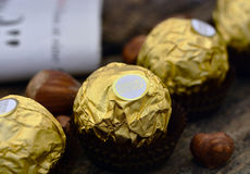Ferrero Rocher Photographie stock