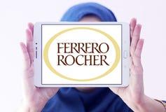 Ferrero rocher chocolate company logo Royalty Free Stock Photos