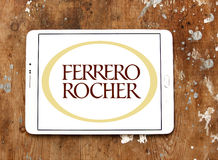 Ferrero rocher chocolate logo Royalty Free Stock Images