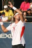 Ferrero: Tennis Player Overhead volley Royalty Free Stock Photo