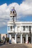 Ferrerpaleis, Cienfuegos, Cuba Stock Afbeelding