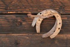 Ferri di cavallo Fotografia Stock Libera da Diritti