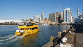 Ferries arriving and departing Royalty Free Stock Photos
