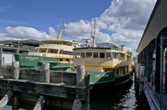 Ferries at Circular Quay Sydney Stock Images