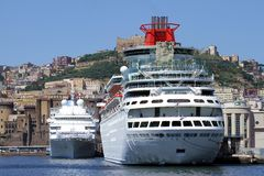 Ferries and cruises Stock Photo