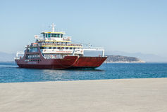 Ferries de Thassos Images stock