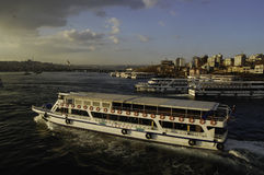 Ferries of Istanbul 2015 Stock Image