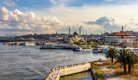 Ferries in Istanbul Stock Photography