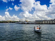 Ferries in Istanbul. Istanbul, Turkey - June 9, 2013: Icon is one of the ferries in Istanbul Royalty Free Stock Photos