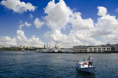 Ferries in Istanbul. Istanbul, Turkey - June 9, 2013: Icon is one of the ferries in Istanbul Royalty Free Stock Images