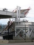 Ferries vehicle loading docks Royalty Free Stock Image