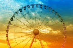 Ferries wheel Stock Images