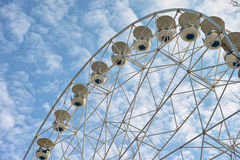 Ferris wheel low-angle Stock Photography