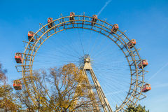 Ferries wheel in Prater park in Vienna Royalty Free Stock Image