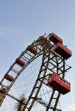 ferris巨型riesenrad维也纳轮子 免版税图库摄影