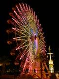 ferris日本神户轮子 免版税图库摄影