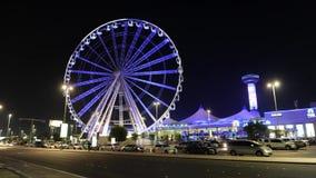 Ferris катит внутри Абу-Даби сток-видео