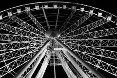 Ferris катит внутри Брисбен стоковое фото