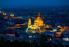 Ferris катит внутри Будапешт стоковое фото rf