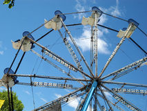 Ferris катит внутри езду парка атракционов Стоковое Фото