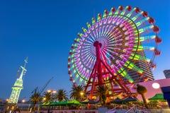 Ferris катит внутри Кобе стоковое изображение rf