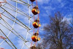 Ferris катит внутри парк Стоковая Фотография