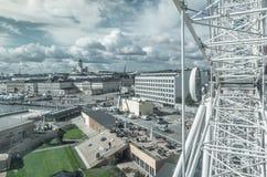 Ferris катит внутри Хельсинки Финляндию Стоковые Фото