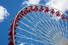 Ferris катит внутри Чикаго, Иллинойс, США стоковые изображения rf