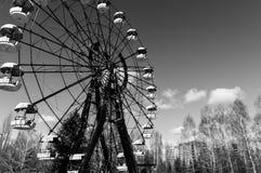 Ferris катит внутри Pripyat стоковая фотография