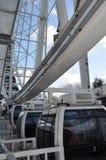 ferris-колесо близкое поднимающее вверх Йорк Англия Стоковые Фото