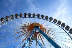 Ferris. Whell on blue sky, Munich Royalty Free Stock Photos
